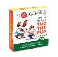 Learn to Read with Tug the Pup Set 3