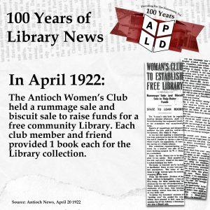 April 1922 News Article